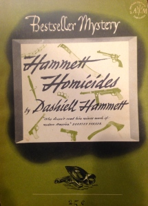 Dashiell Hammett, Hammett Homicides, (New York: Lawrence E. Spivack, 19456). From the Sheridan Libraries, Johns Hopkins University. Photograph by Kylie Sharkey.