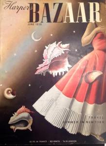 Harper's Bazaar Magazine (June 1939). From the Sheridan Libraries, Johns Hopkins University. Photograph by Kylie Sharkey.