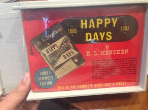 Happy Days, 1942, War Edition, Cover