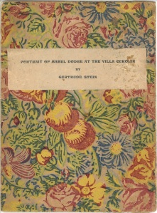 portrait of mabel dodge cover