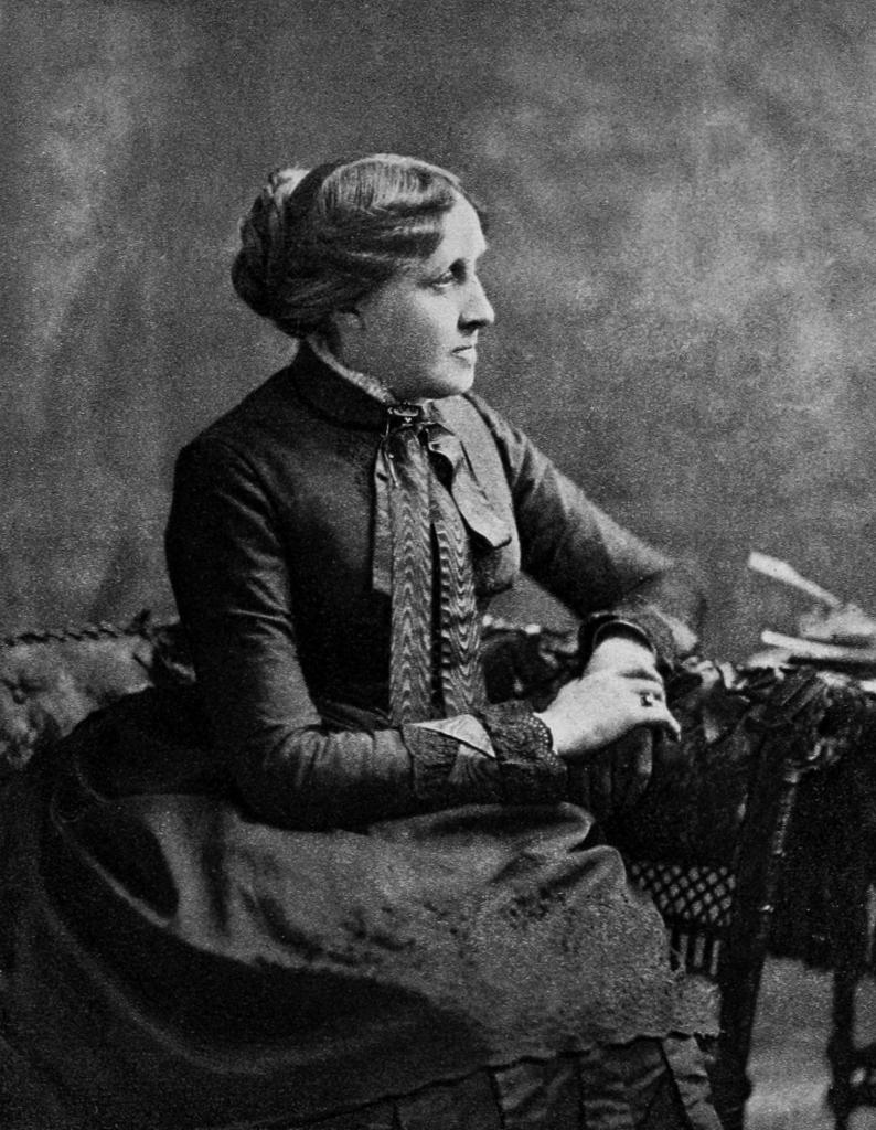 Portrait of Louisa May Alcott