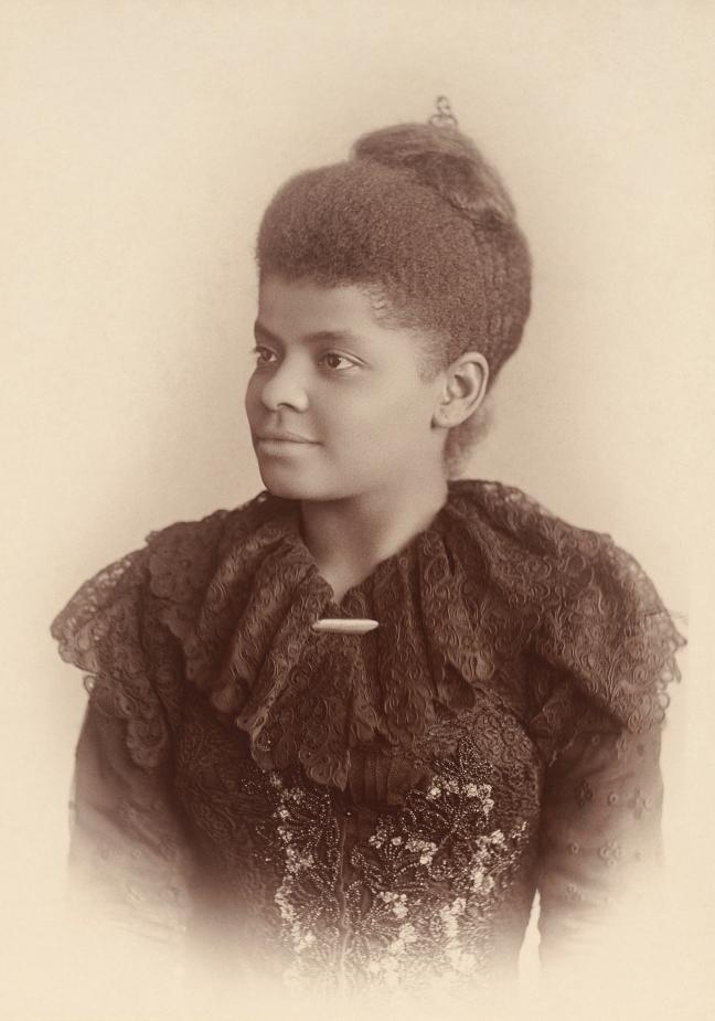 Photograph of Ida B. Wells, circa 1893. Courtesy of Mary Garrity.